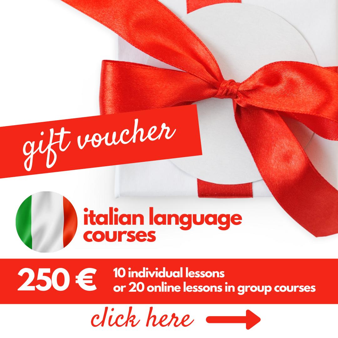 gift voucher italiano 2021