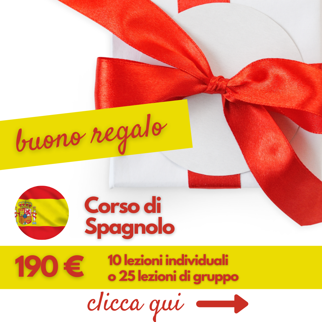 gift voucher spagnolo 2021